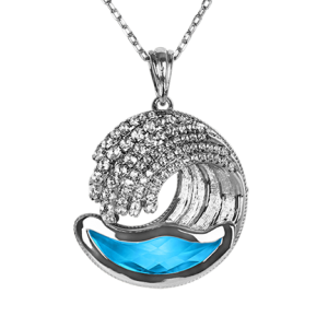 Surf's Up Pendant