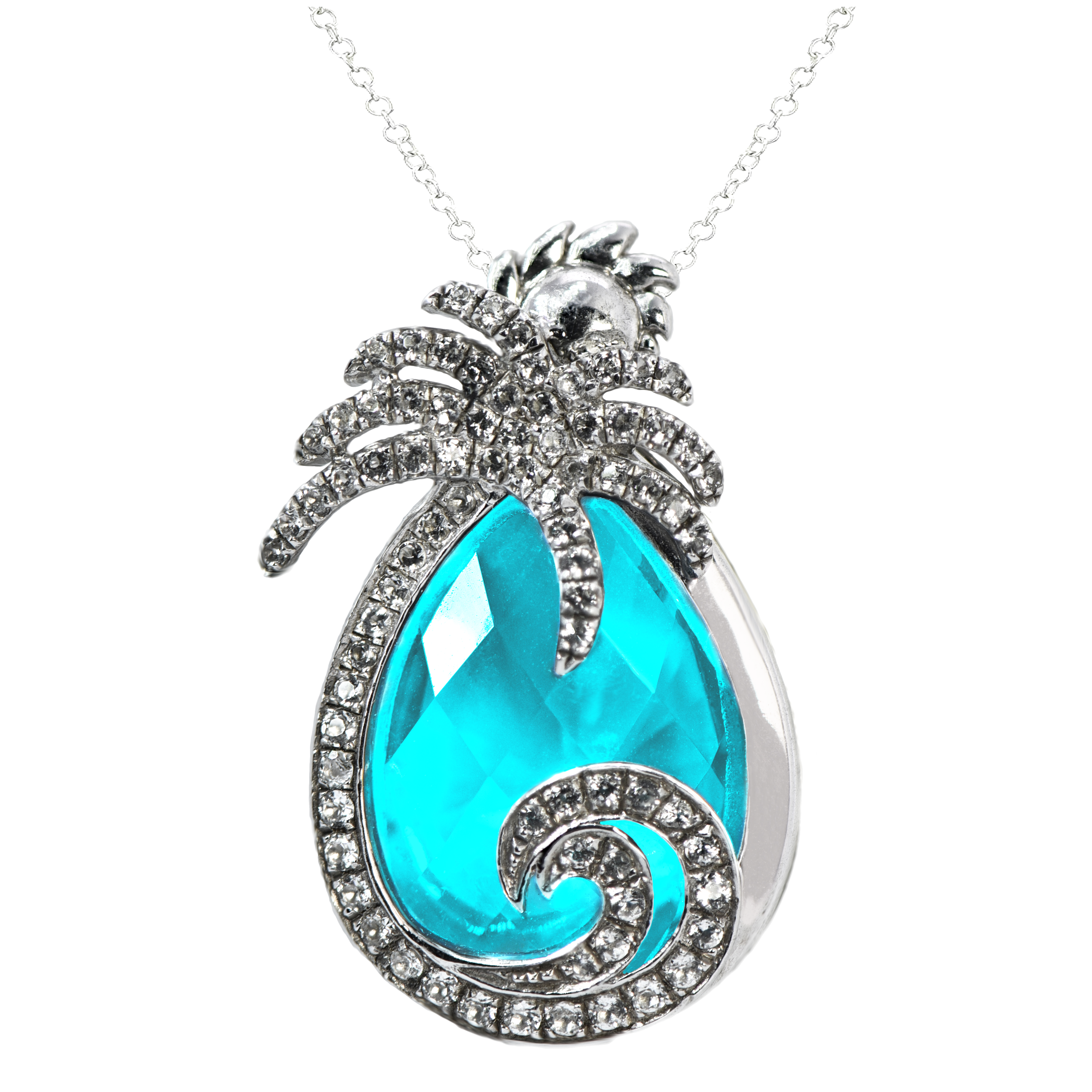 Glow of the Caribbean Pendant